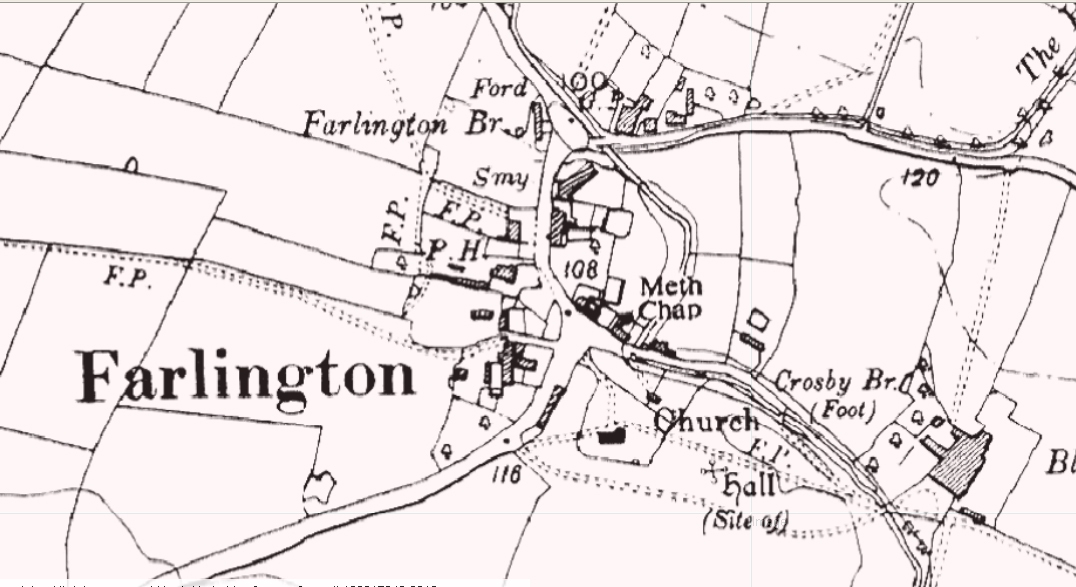 Farlington map 1888