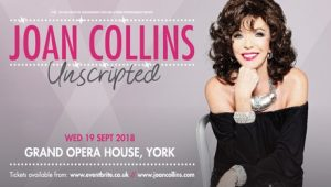 Joan Collins Unscripted @ Grand Opera House
